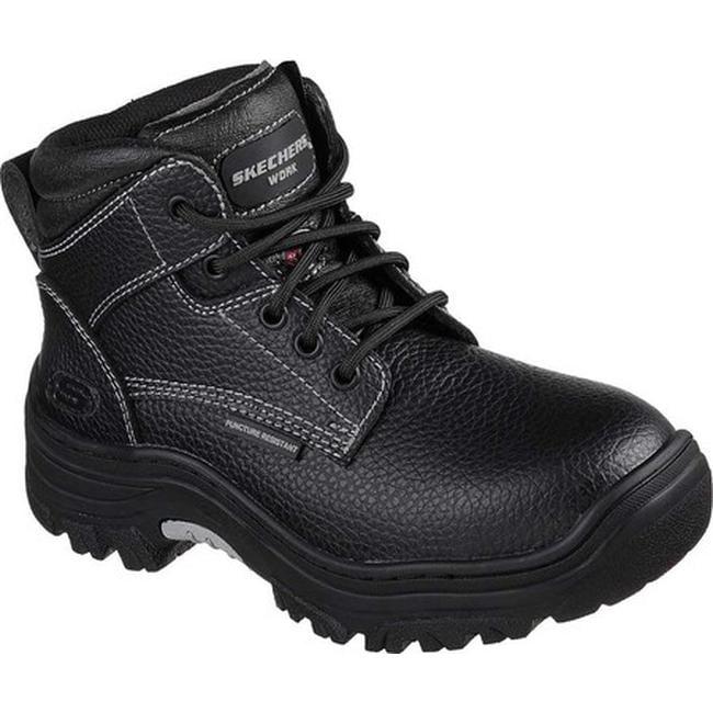 b29ccb663f88 Shop Skechers Women s Work Burgin Krabok Steel Toe Boot Black - Free  Shipping Today - Overstock - 20223829