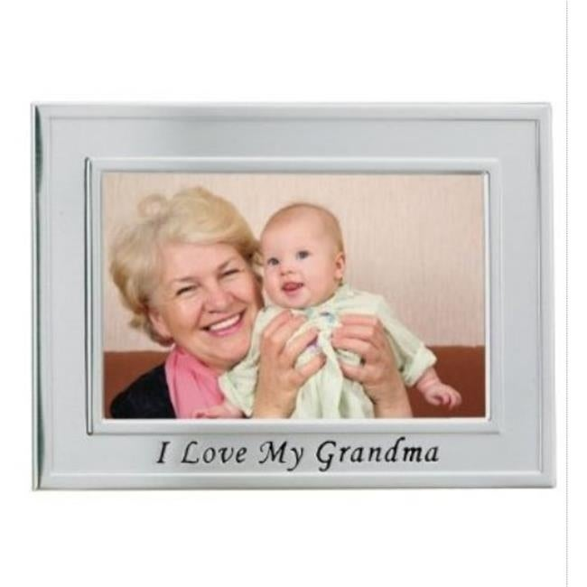 Brushed Metal 4x6 I Love My Great Grandma Picture Frame - - Free ...