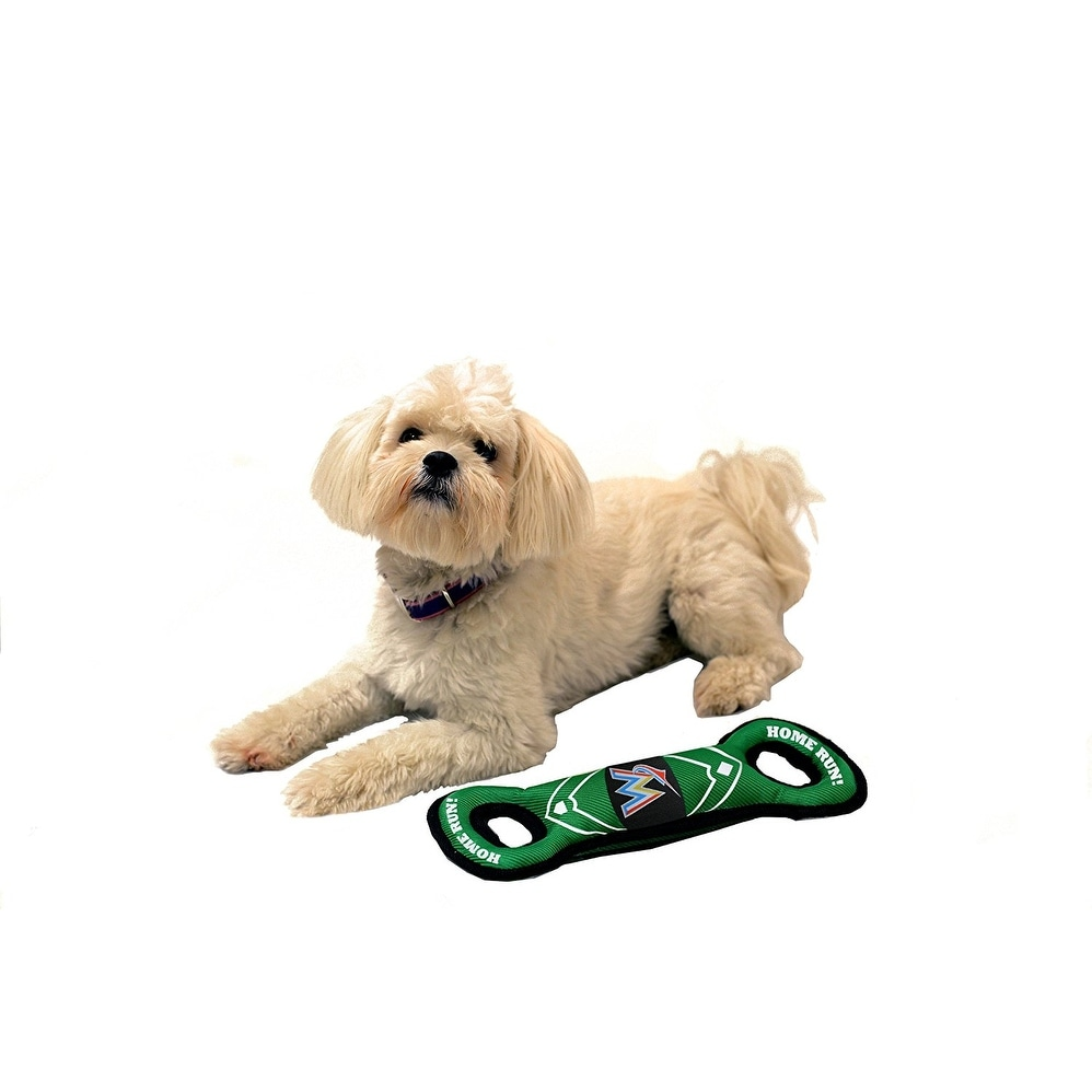 9a5ed3ecdd2 Shop Pets First MLB Miami Marlins Nylon Field Toy - On Sale - Free Shipping  On Orders Over  45 - Overstock - 20604916