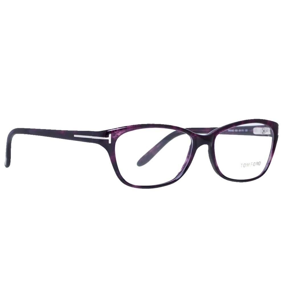 ded006a544 Shop Tom Ford TF 5142 083 54mm Violet Women s Rectangular Eyeglasses -  54mm-15mm-135mm - Free Shipping Today - Overstock - 15890427