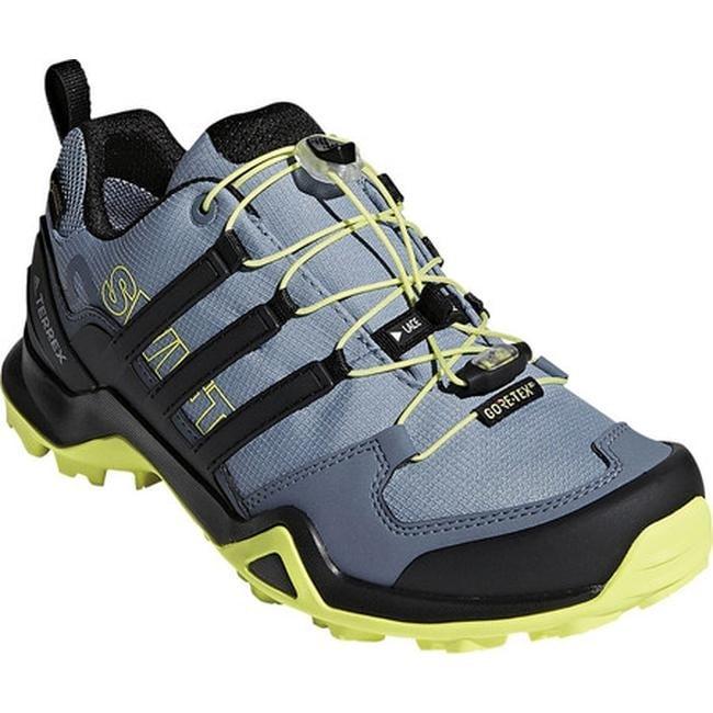 adidas Women s Terrex Swift R2 GORE-TEX Hiking Shoe Raw Grey Black Semi  Frozen Yellow 3b43ae660