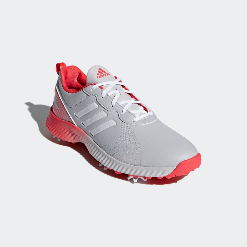 e6568df6bae21 Shop New Adidas Women s Response Bounce Grey White Real Coral Golf Shoes  F33666 - Free Shipping Today - Overstock.com - 26234235