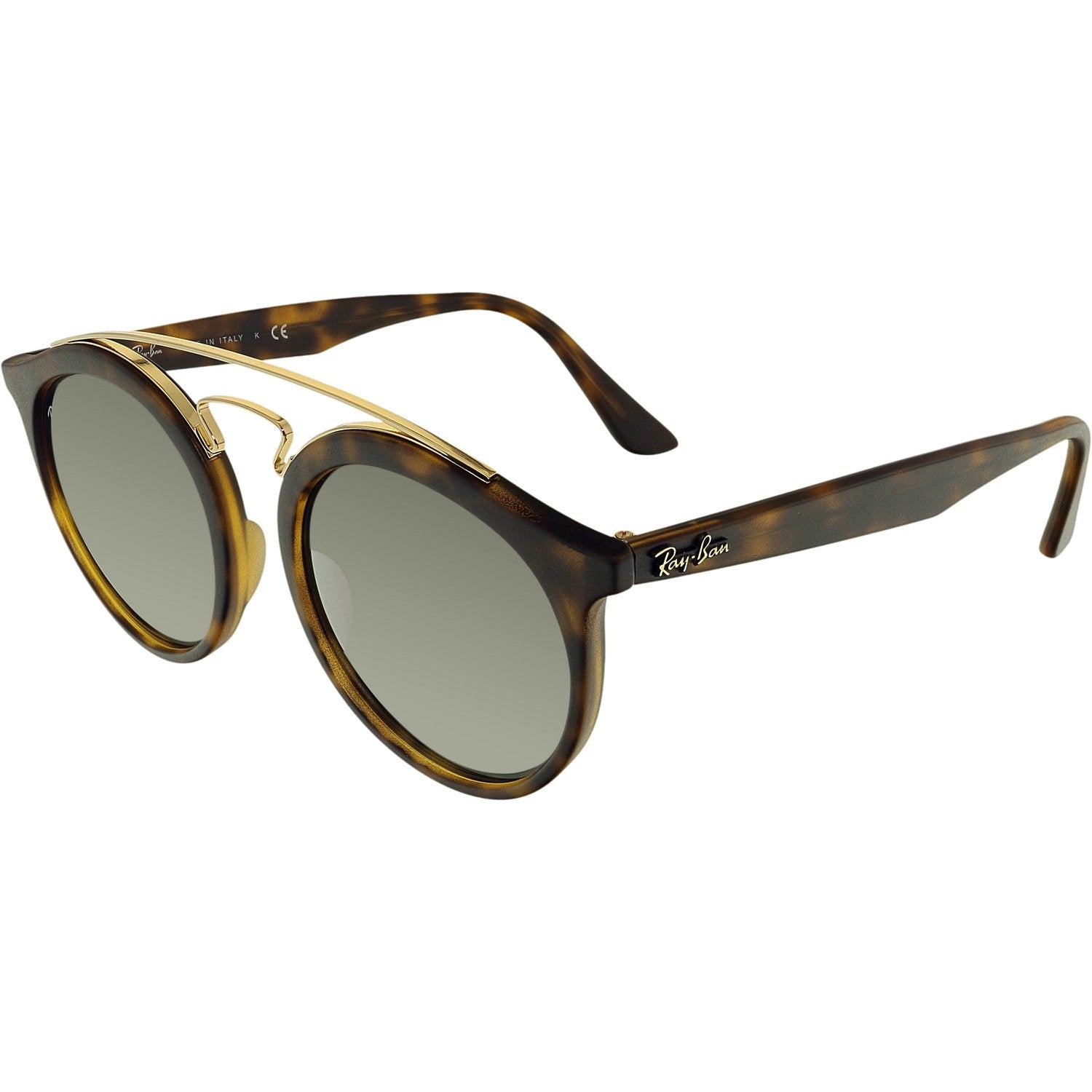 0d2762892a Shop Ray-Ban Mirrored Gatsby I RB4256-60926G-49 Brown Round Sunglasses -  Free Shipping Today - Overstock.com - 18900546