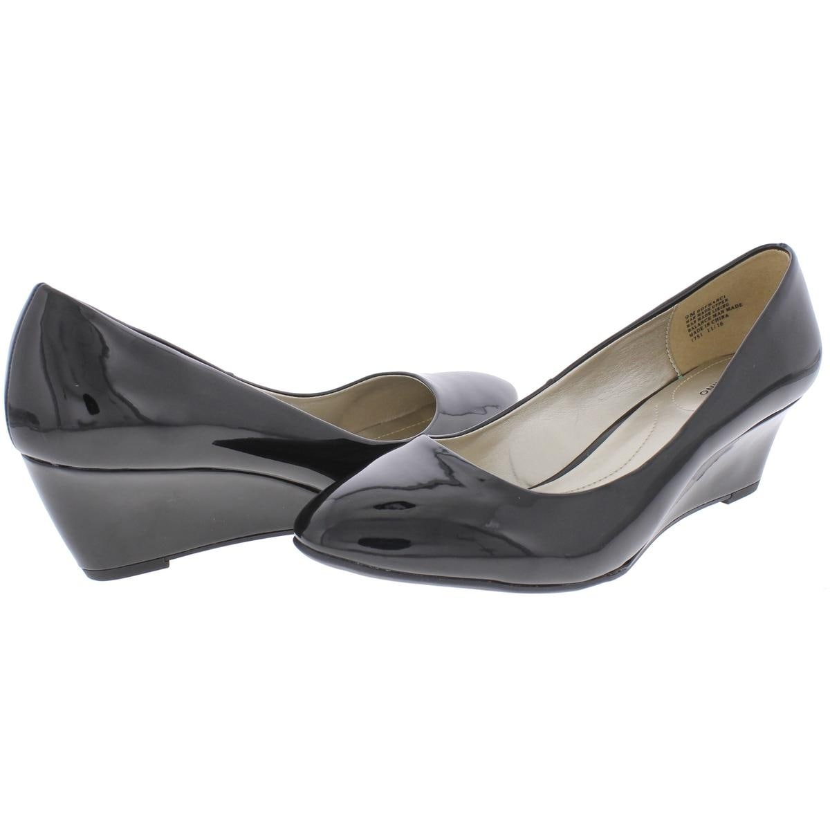 eac6e66d05b Shop Bandolino Womens Franci Wedge Heels Round Toe - Free Shipping On  Orders Over  45 - Overstock - 20982907