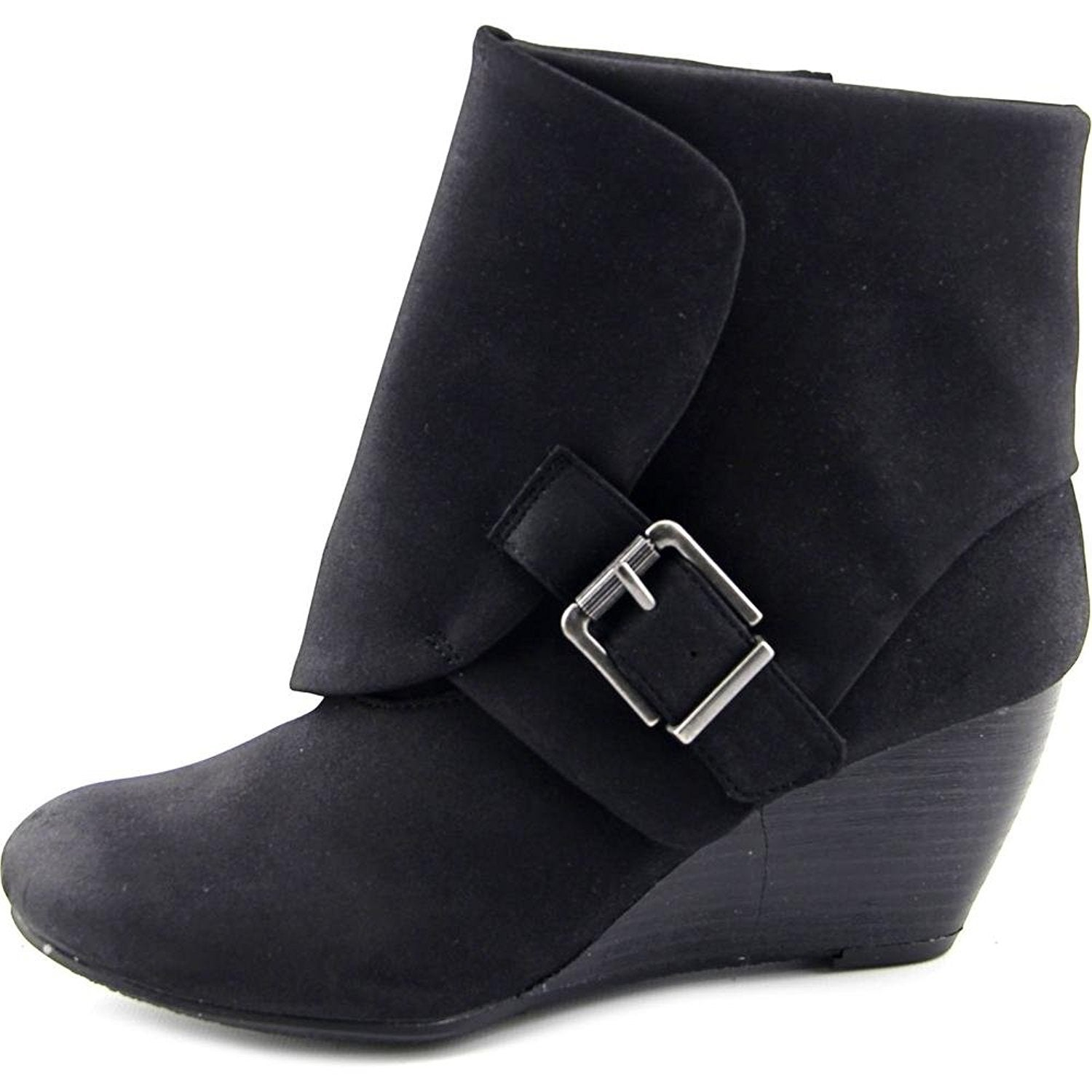 c4920bd469c Shop AR35 Coreene Cuffed Wedge Ankle Booties - Chocolate - On Sale - Free  Shipping On Orders Over  45 - Overstock.com - 16978815