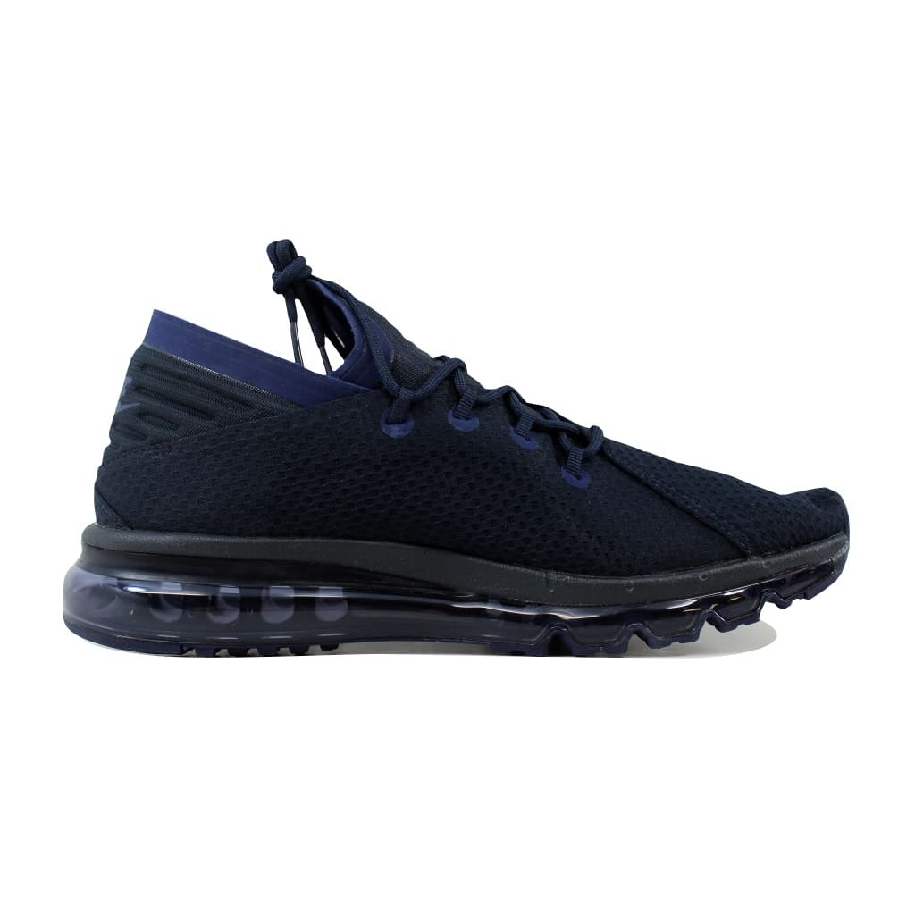 0729fafeca5e Shop Nike Men s Air Max Flair Dark Obsidian White 942236-400 - Free  Shipping Today - Overstock.com - 21893028