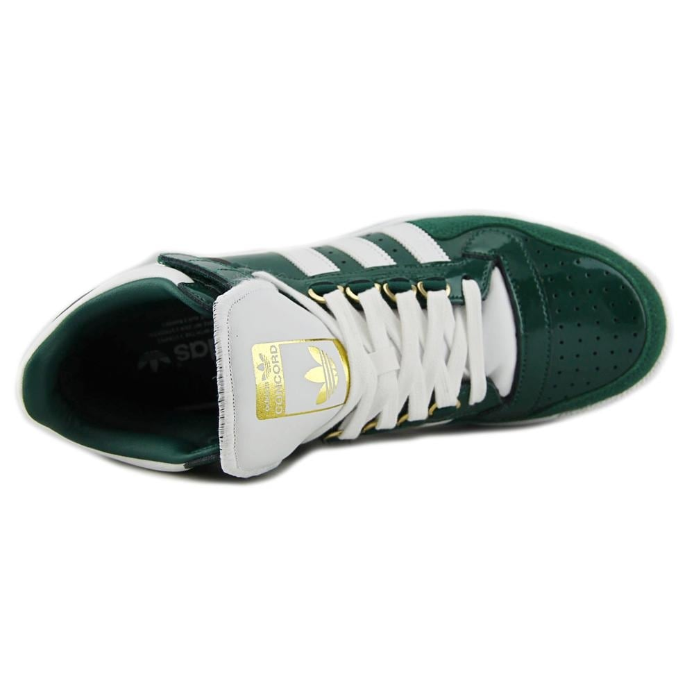 timeless design 53807 08547 Shop Adidas Concord 2.0 Mid Men Round Toe Patent Leather Green Sneakers -  Free Shipping Today - Overstock - 14318476