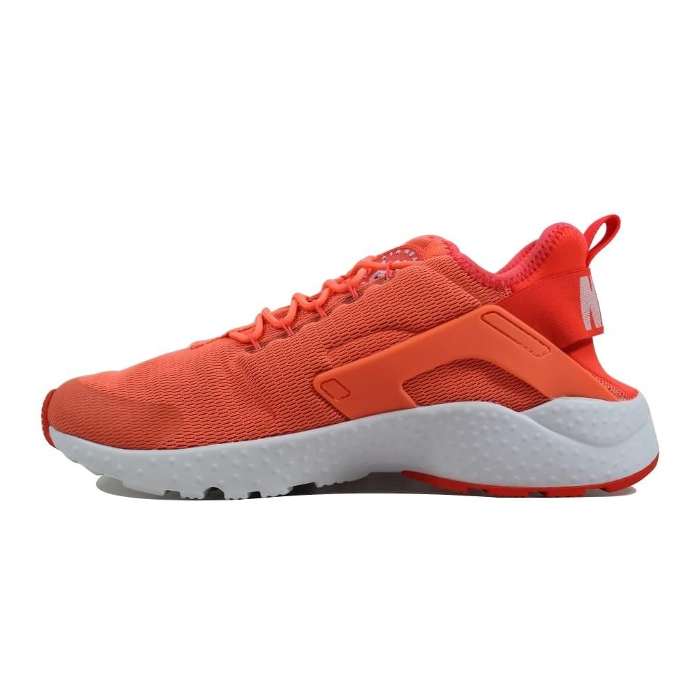 wholesale dealer 6384a d97e4 Shop Nike Women s Air Huarache Run Ultra Bright Mango White 819151-800 -  Free Shipping Today - Overstock - 24122936