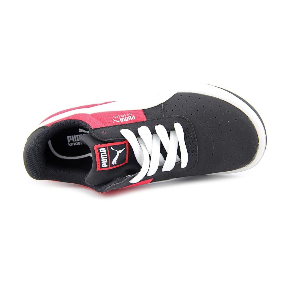 c143bd6f1985ca Shop Puma GV Special CVS Jr Youth Round Toe Canvas Black Sneakers - Free  Shipping On Orders Over  45 - Overstock.com - 14811509