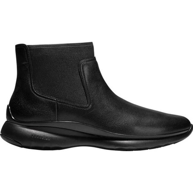 26c0fc110a323 Shop Cole Haan Women s 3.ZEROGRAND Waterproof Chelsea Boot Black Waterproof  Leather - On Sale - Free Shipping Today - Overstock - 24103212