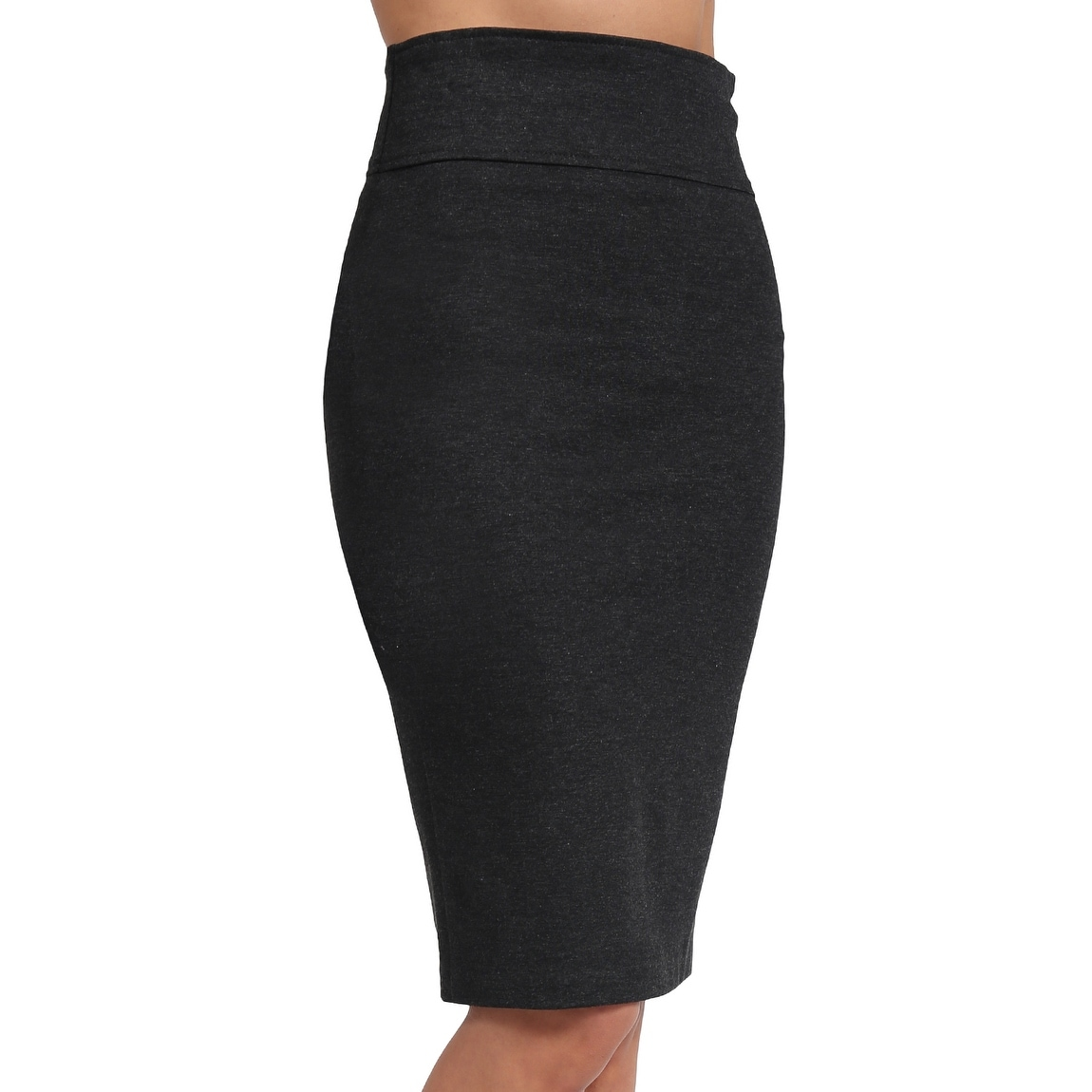 fce04a28b4 Shop NE PEOPLE Womens Solid Knee Length Work Office Pencil Skirts-NEWSK36 -  Free Shipping On Orders Over $45 - Overstock - 20117034