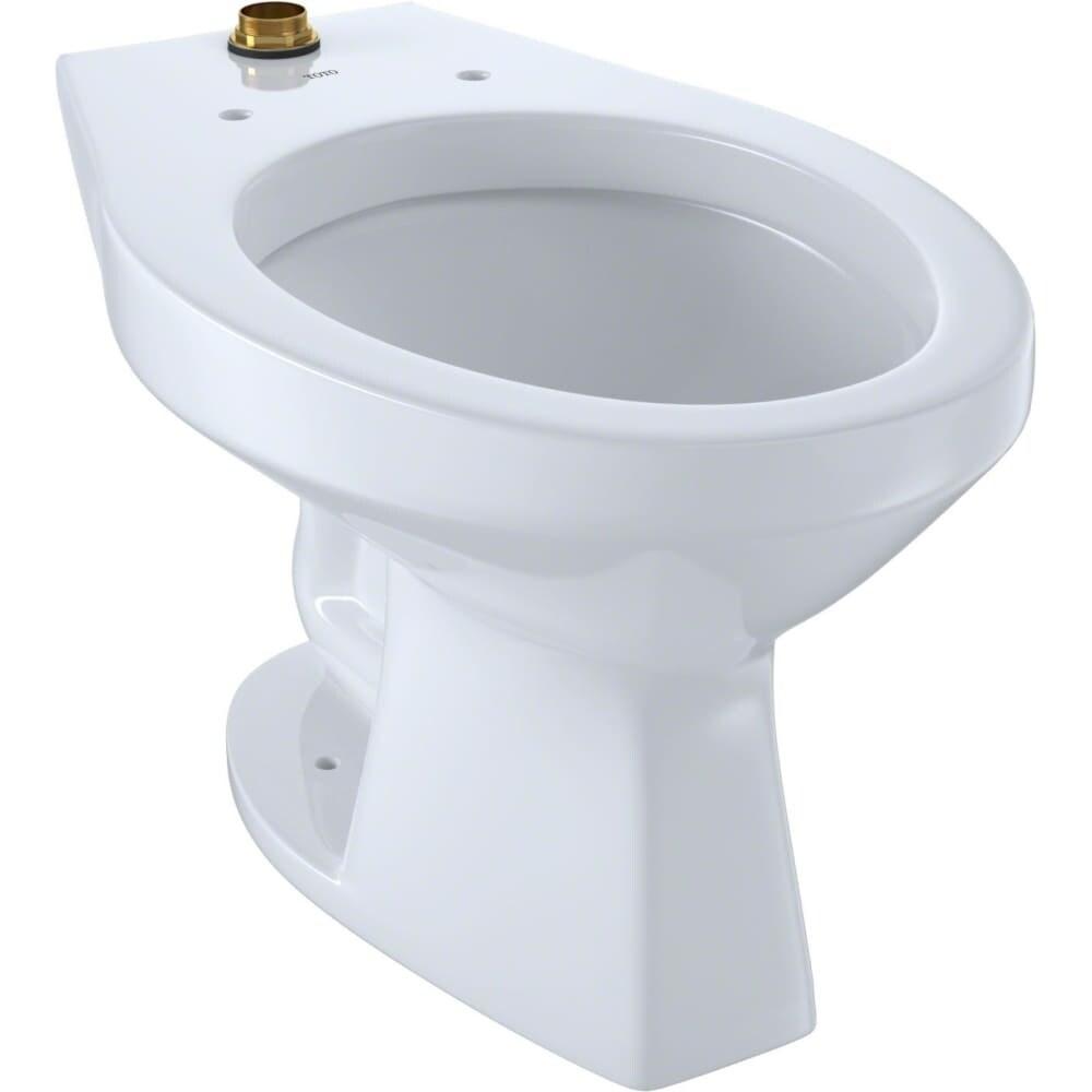 Shop Toto CT705UN Commercial Elongated Toilet Bowl Only - Less Seat ...