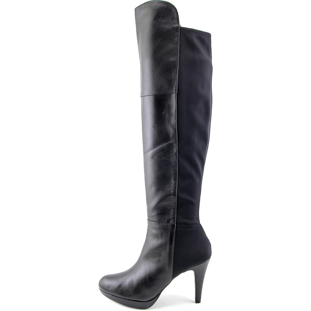 294d4bf4dfd Shop Adrienne Vittadini Plymouth Black Boots - Free Shipping Today -  Overstock - 19819072