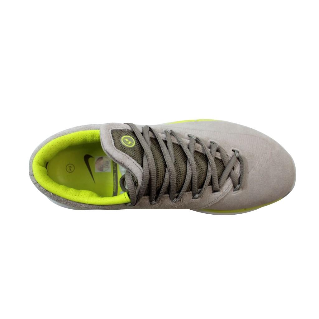 e2b1c99cbefb Shop Nike Men s KD VI 6 Elite Premium Chino Venom Green-Summit White-Grey  Fragment 683250-231 Size 10 - Free Shipping Today - Overstock - 21141288