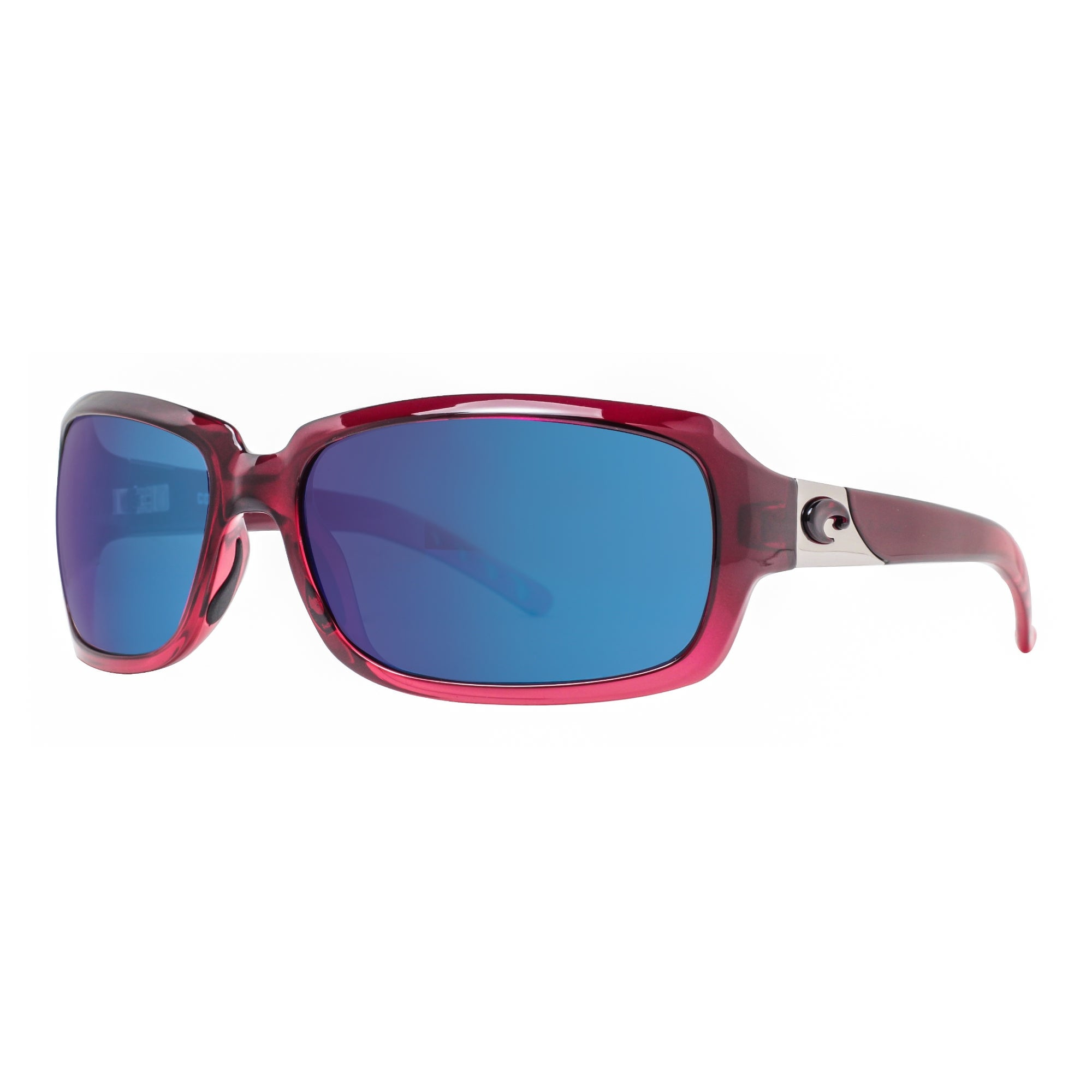 f72121313c0 Costa Del Mar Isabela IB48OBMP Pomegranate Fade Pink 580P Blue Mirror  Sunglasses - pomegranate fade - 63mm-17mm-124mm