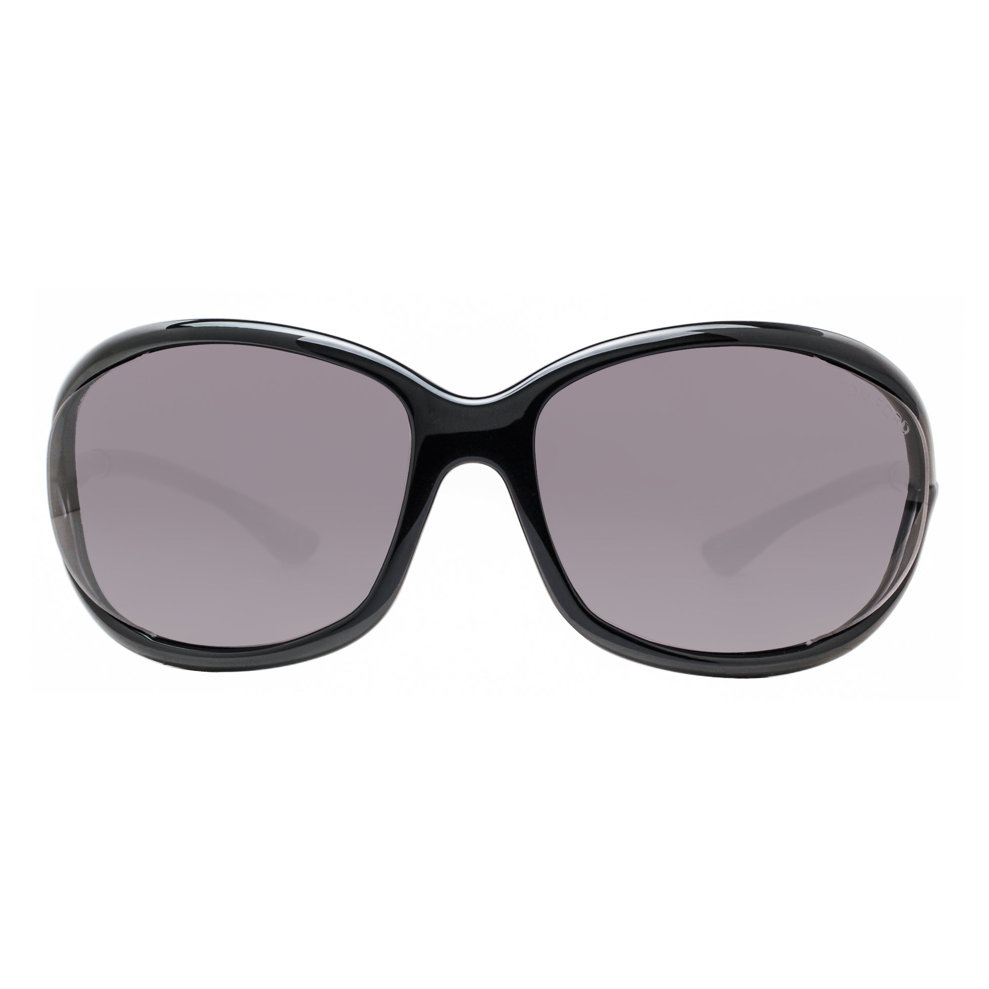 5b9d8449806 Shop Tom Ford Jennifer TF 8 199 Shiny Black Smoke Gray Women s Soft Square  Sunglasses - Shiny Black - 61mm-16mm-120mm - Free Shipping Today -  Overstock.com ...