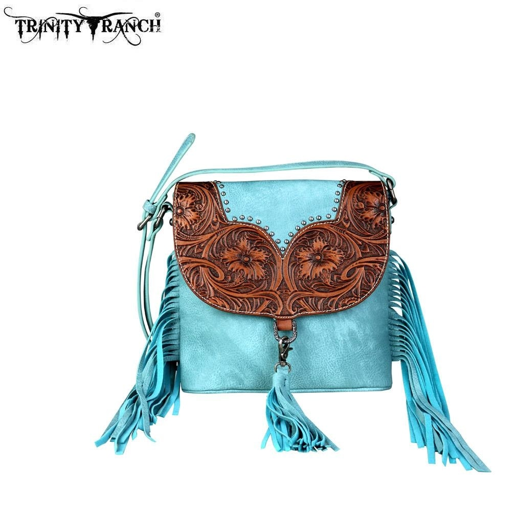 05aa9288d3a1 Turquoise Handbag With Fringe