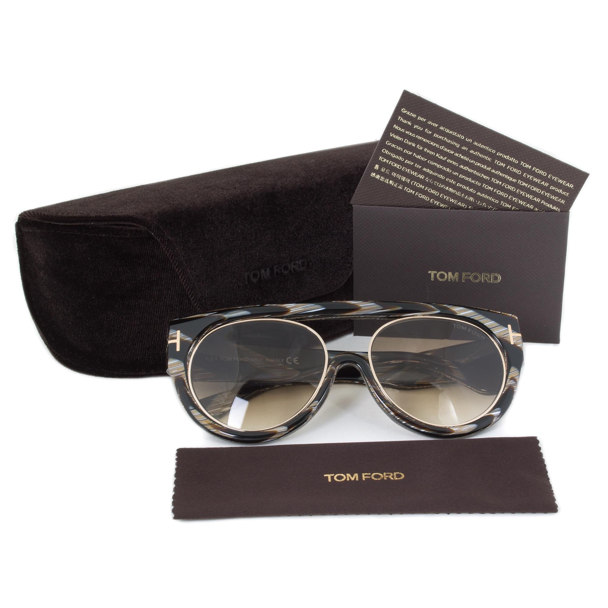 b64e23b898f Shop Tom Ford Alana Sunglasses FT0360 63F