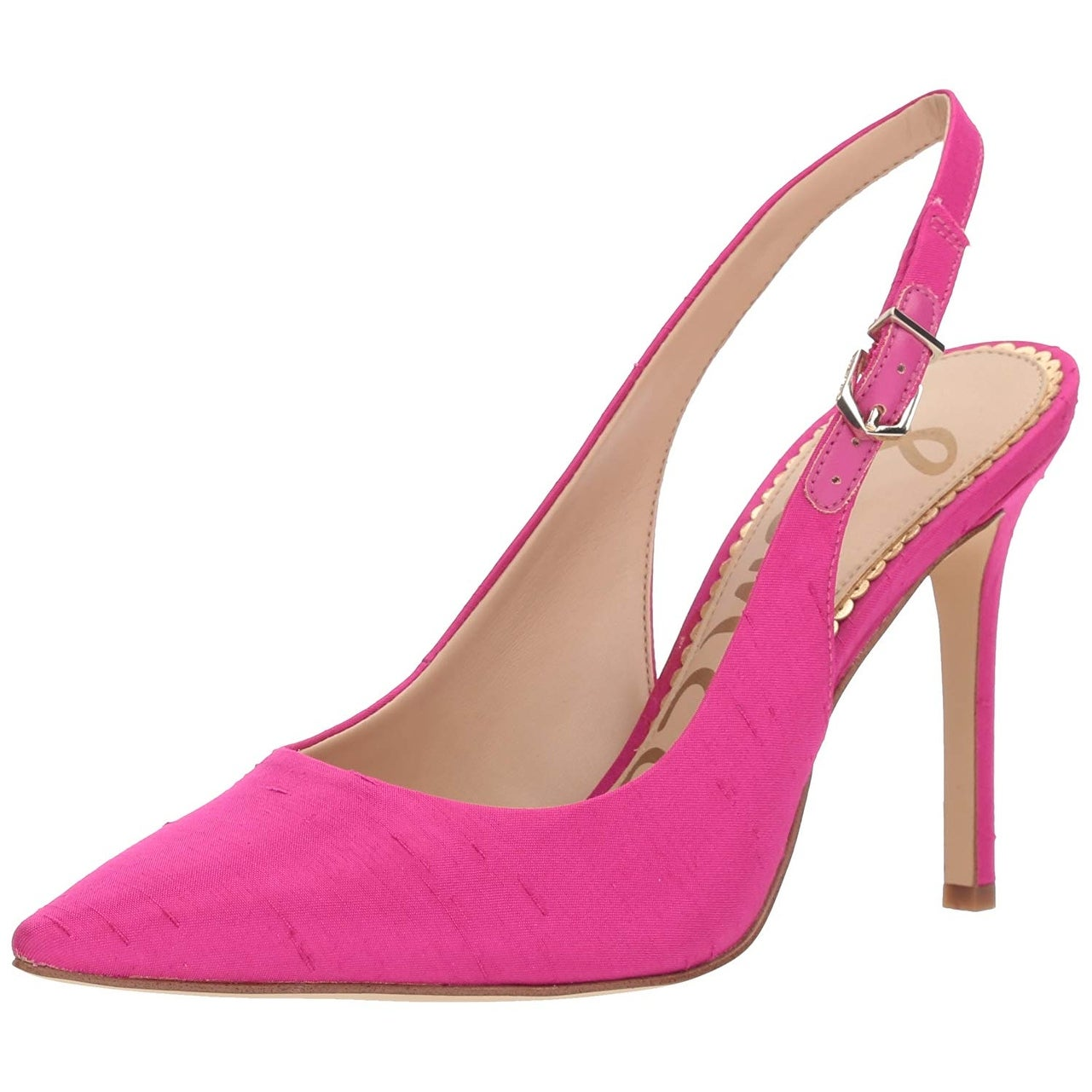 0084936b6b53 Shop Sam Edelman Womens hastings Fabric Pointed Toe SlingBack Classic Pumps  - 5.5 - Free Shipping Today - Overstock - 22882607