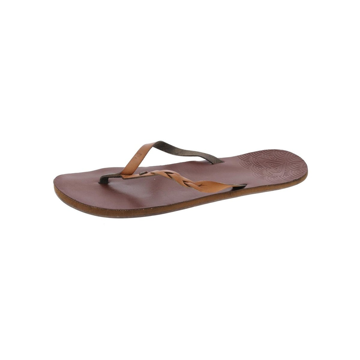 8fb10568c Shop Roxy Womens Liza Flip-Flops Thong Braided - Free Shipping On Orders  Over  45 - Overstock - 20742302