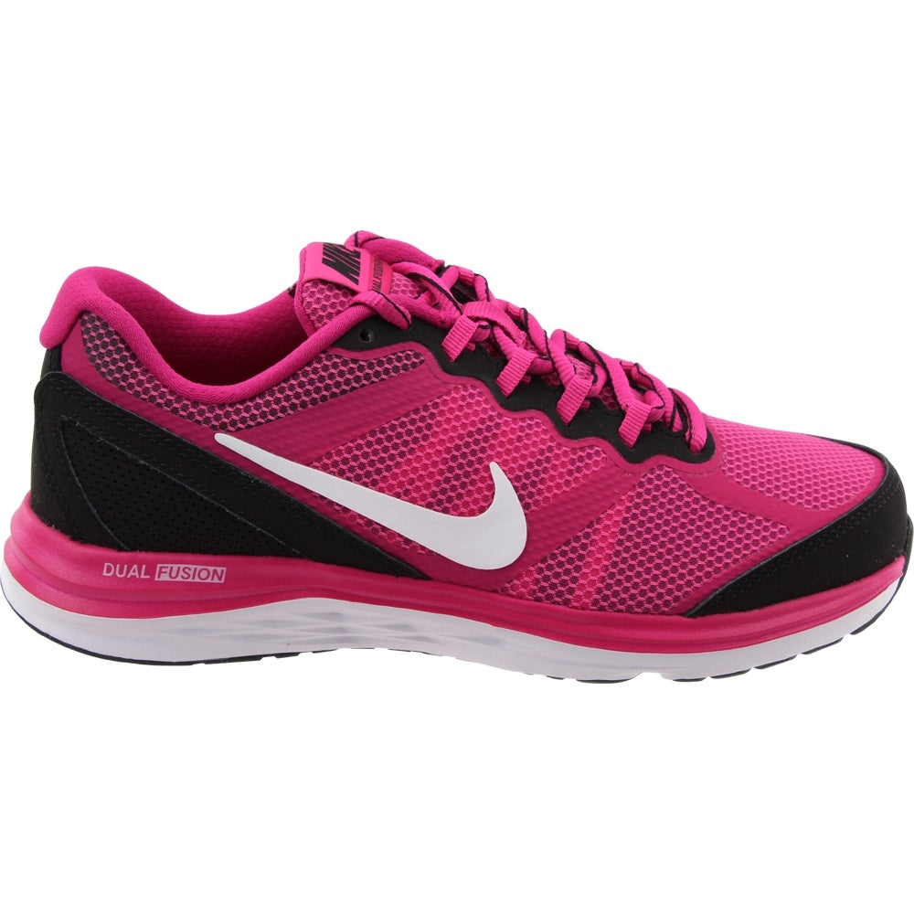 size 40 c4615 6896d Shop Nike Womens Dual Fusion Run 3 Grade School Athletic   Sneakers - Free  Shipping On Orders Over  45 - Overstock - 22465048