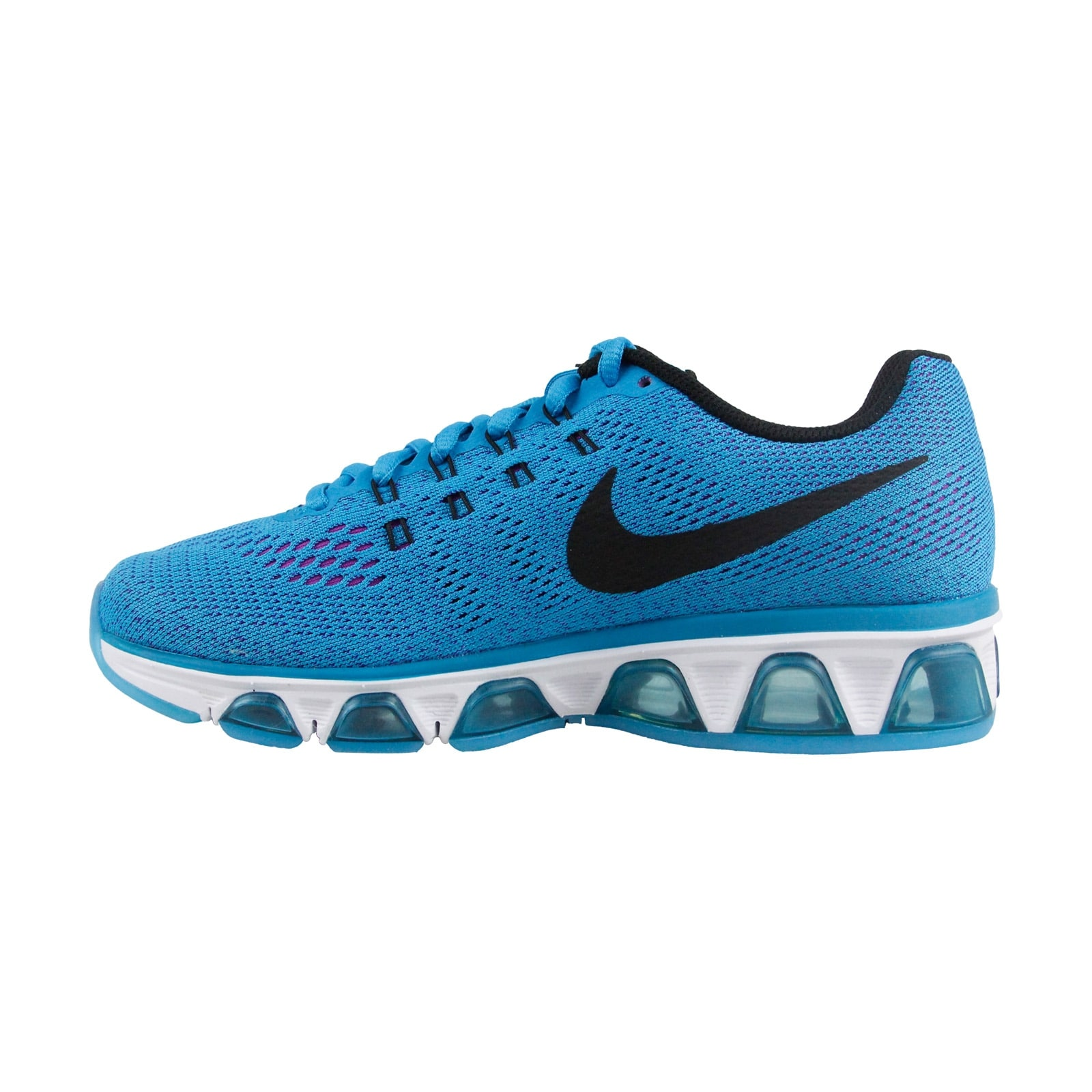 6153f36334 Shop Nike Air Max Tailwind 8 Womens Blue Mesh Athletic Lace Up Running Shoes  - Free Shipping Today - Overstock - 19571119