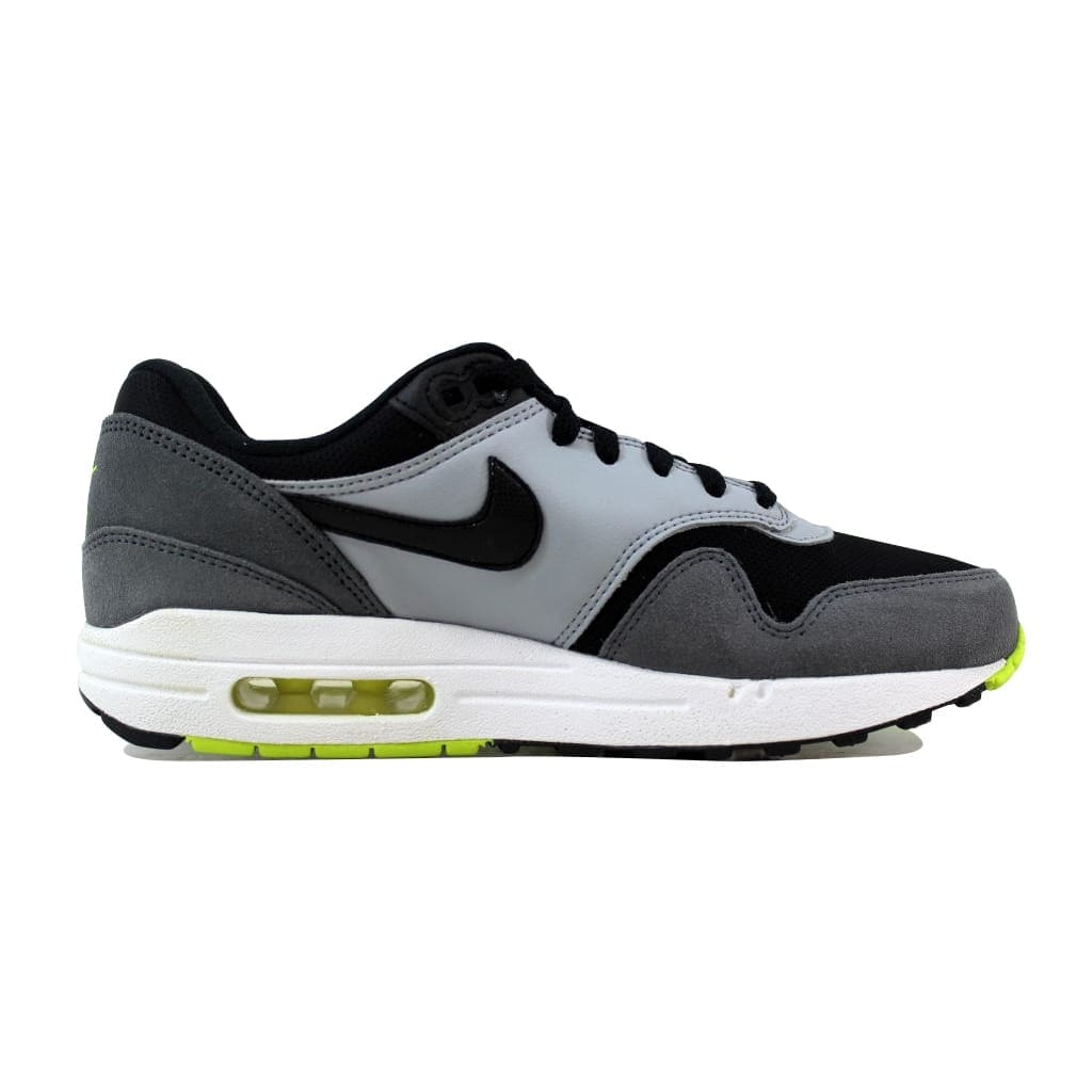 factory price c071c d5aef Nike Air Max 1 Black Black-White-Dark Grey 555766-047 Grade-School
