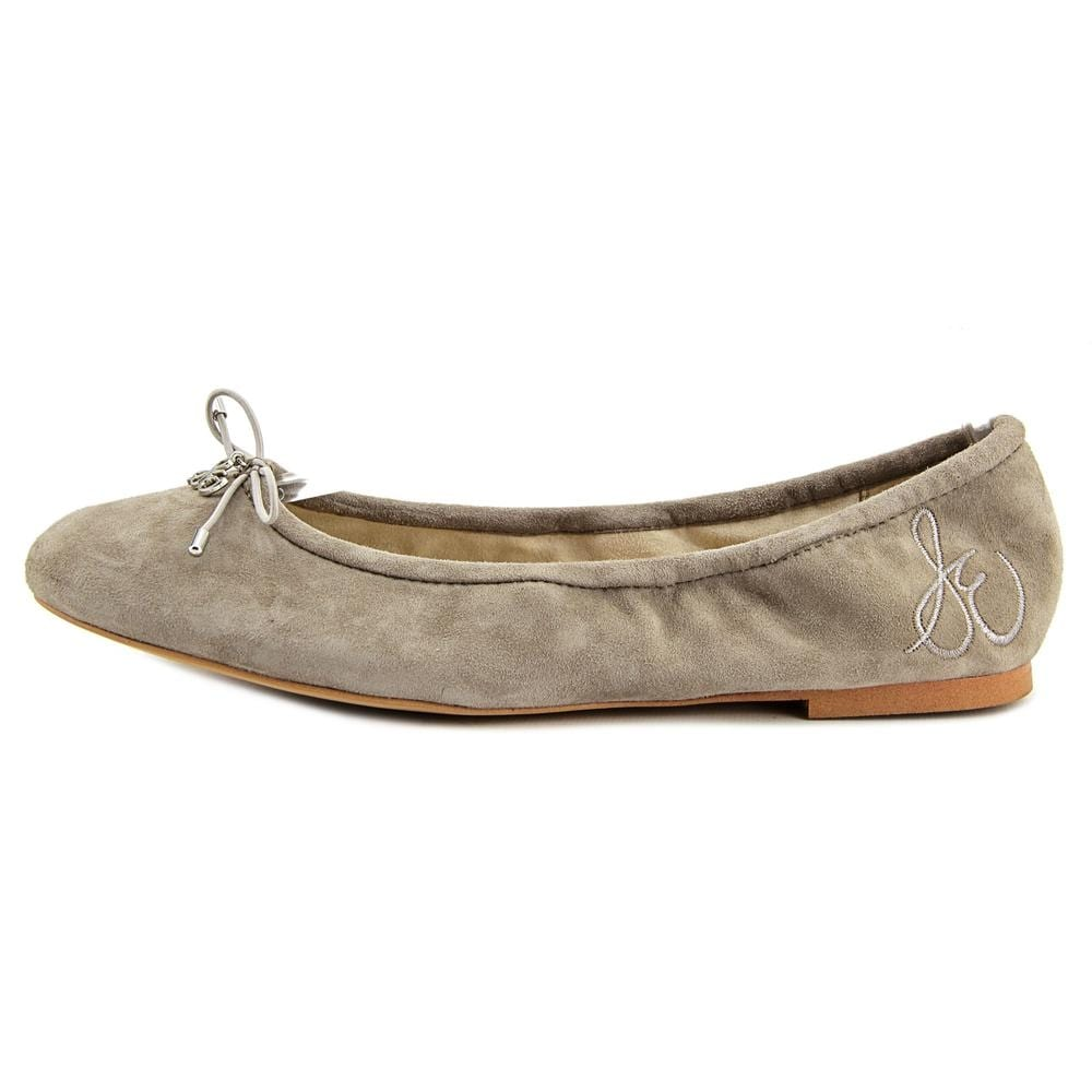 768d22c50f26cc Shop Sam Edelman Felicia Women Round Toe Synthetic Gray Ballet Flats - Free  Shipping On Orders Over  45 - Overstock - 16604859