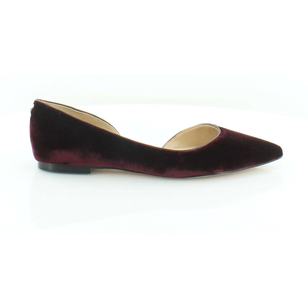 3d87ed035 Shop Sam Edelman Womens Reema Leather Pointed Toe Slide Flats - Free  Shipping Today - Overstock - 19863967