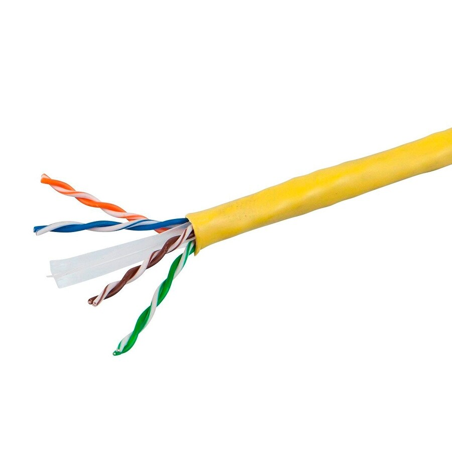Shop Cat6 Ethernet Bulk Cable Solid 350Mhz UTP Copper Wire 23AWG ...