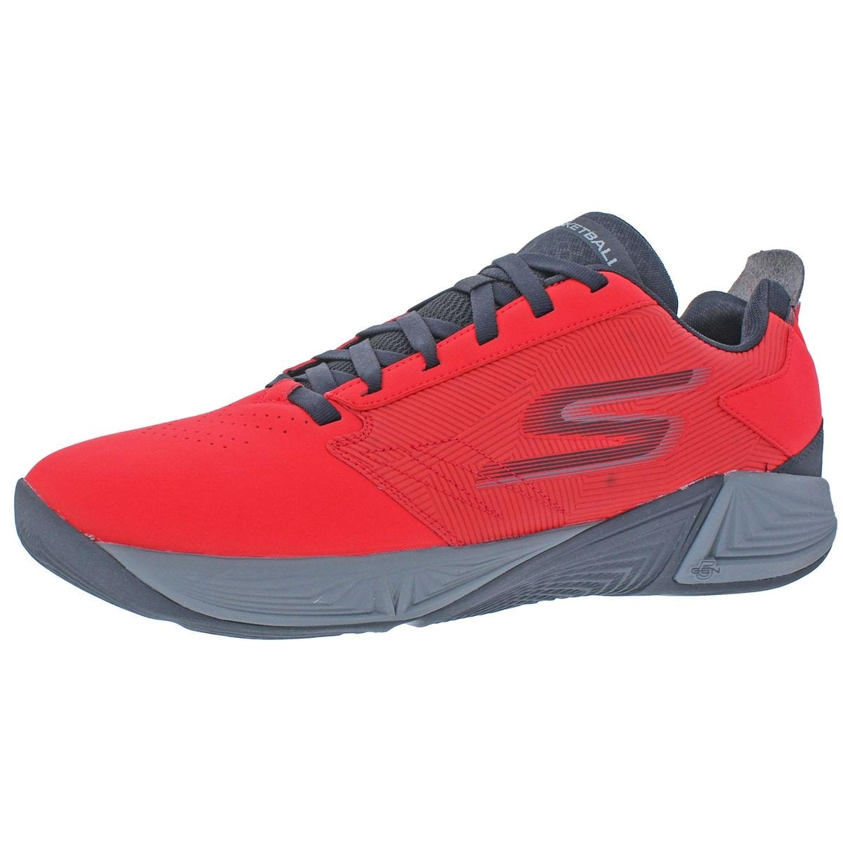 Skechers Torch LT Men's Synthetic Low Top Basketball Shoes Red Size 11 - 11  medium (d)