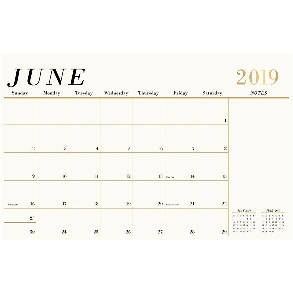 Goal Setting Desk Pad Calendar