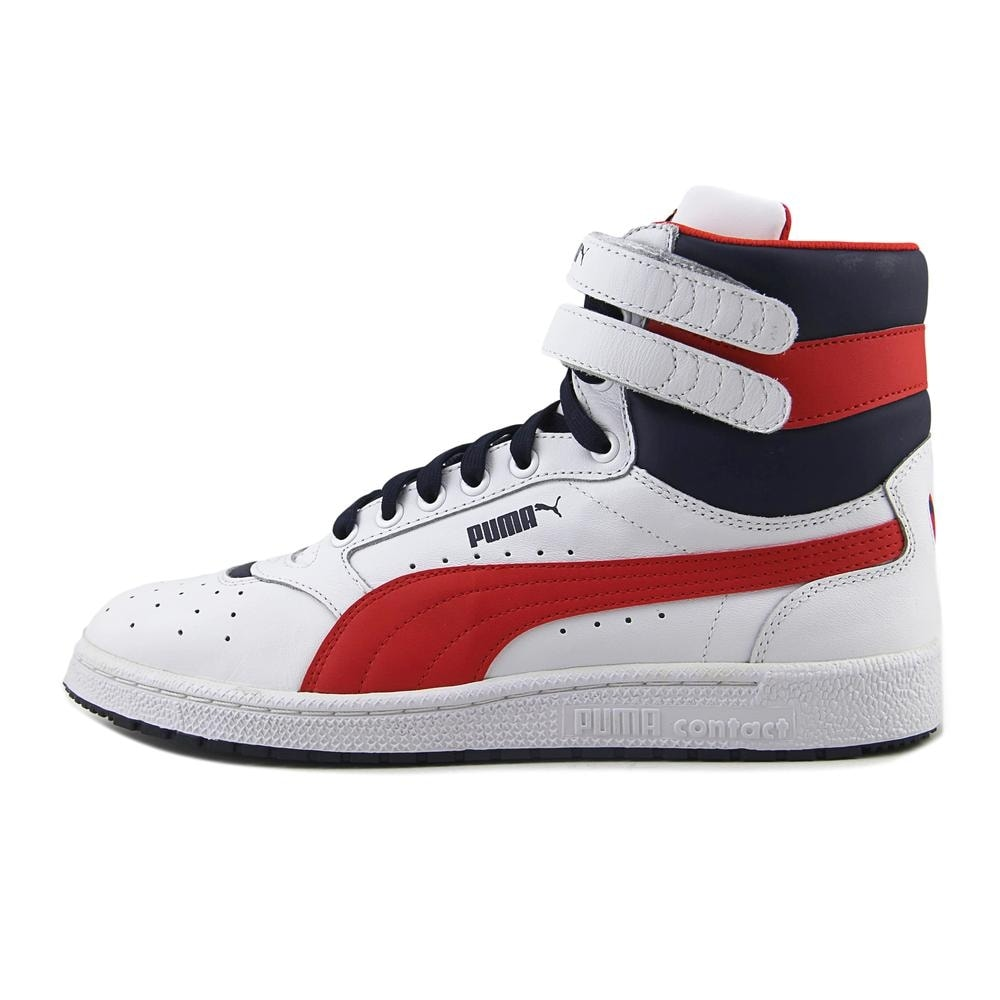 8c7ed2bd675c3b Shop Puma Sky II Hi FG Men Round Toe Leather White Sneakers - Free Shipping  Today - Overstock.com - 19880828