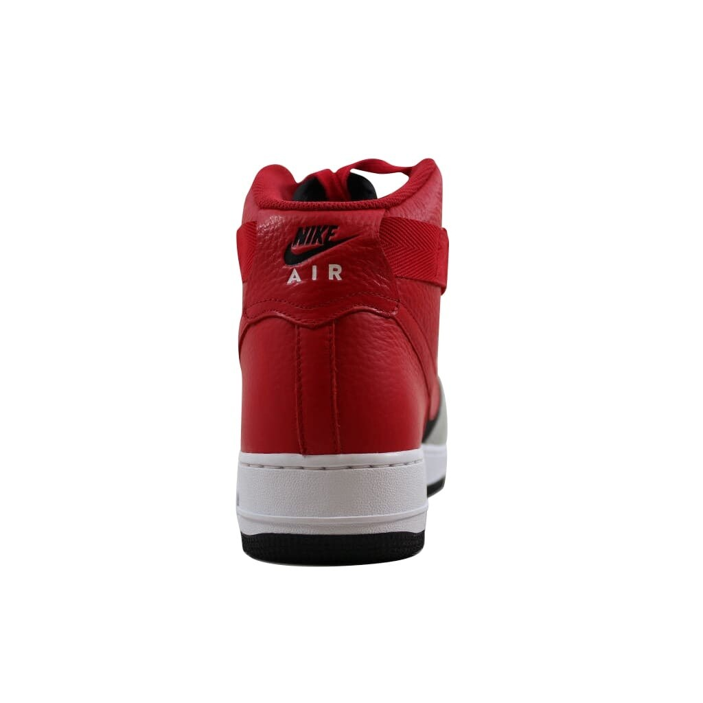 0516a38d034 Shop Nike Men s Air Force 1 High 07 LV8 Wolf Grey University Red-Black  806403-007 - On Sale - Free Shipping Today - Overstock - 21893655