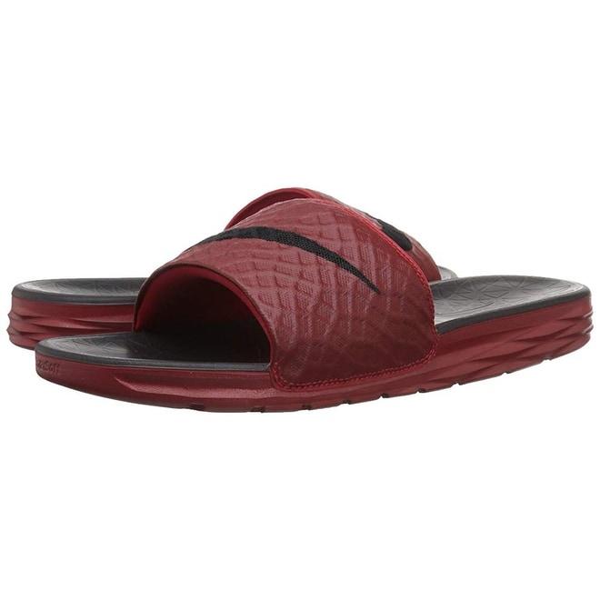 d7547ba2d Shop Nike Men s Benassi Solarsoft Slide Sandal