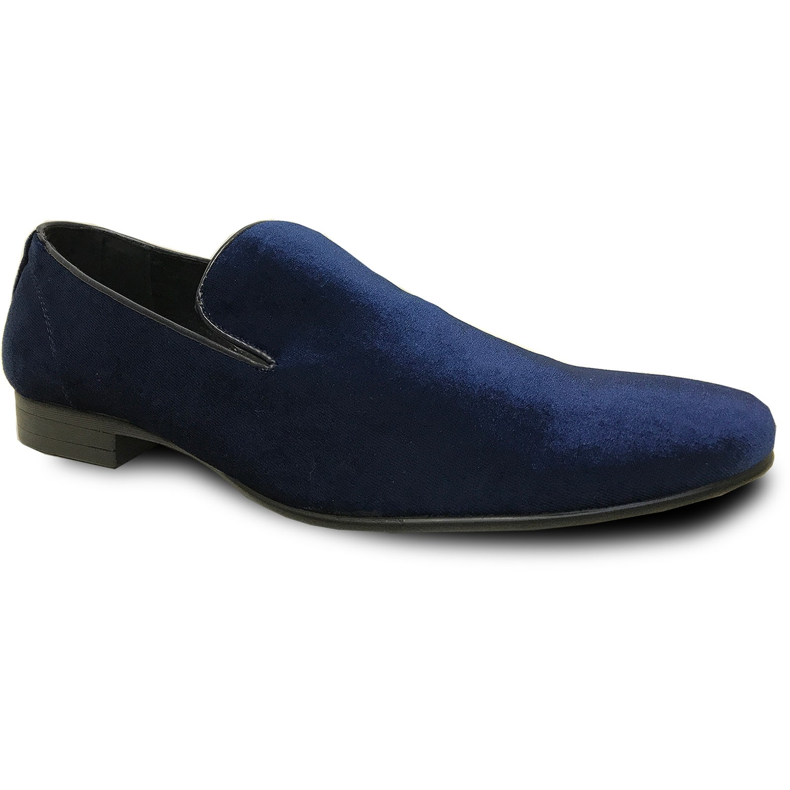Men Dress Shoe Klein-7 Loafer With Leather Lining - Blue Velvet