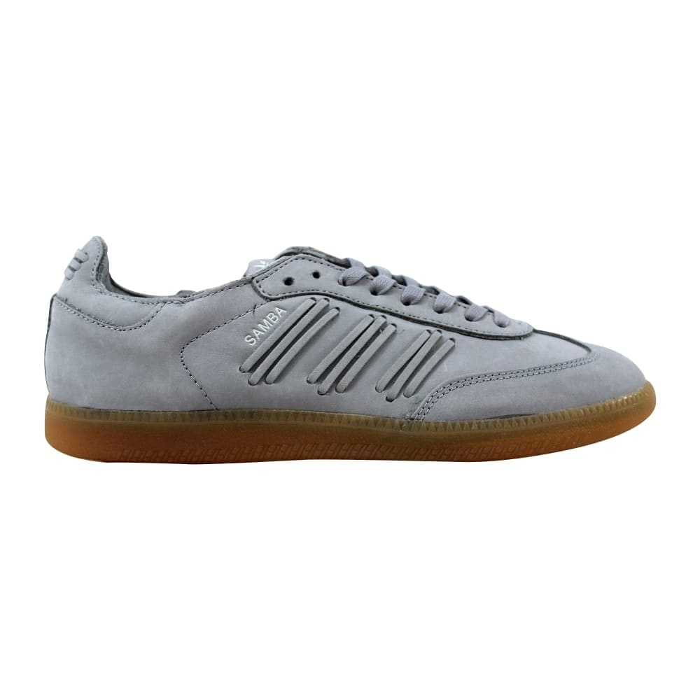 7a200aa97ac Shop Adidas Women s Samba W Light Onix White-White BY2833 - On Sale - Free  Shipping Today - Overstock - 21141889