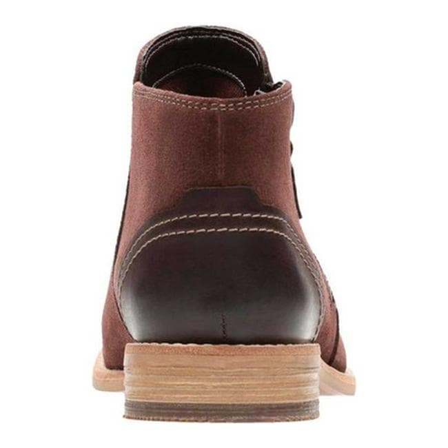 03c22d9aa46c Shop Clarks Women s Maypearl Juno Ankle Bootie Mahogany Suede Nubuck - Free  Shipping Today - Overstock - 18158835