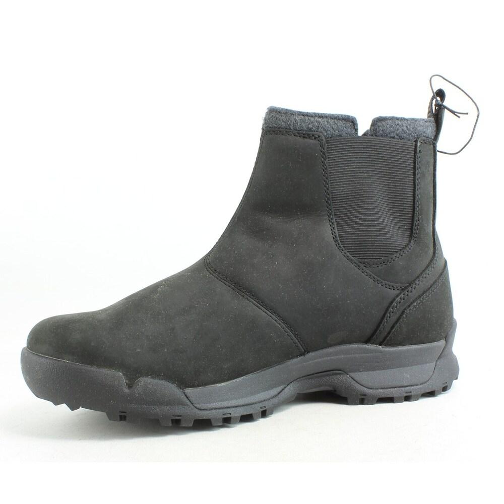 b8aa1dbd3f2 SOREL Mens Paxson Black Snow Boots Size 7