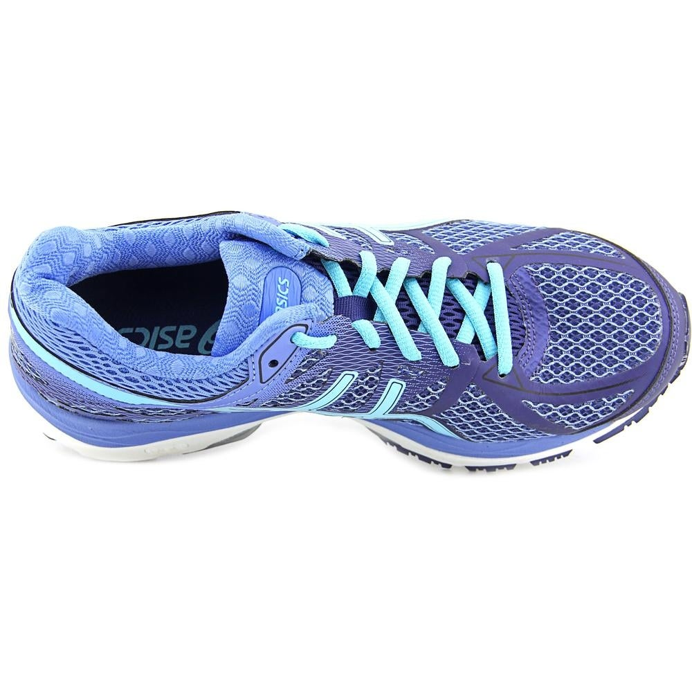Affordable Womens Blue Asics Gel Foundation 12 Running Shoes