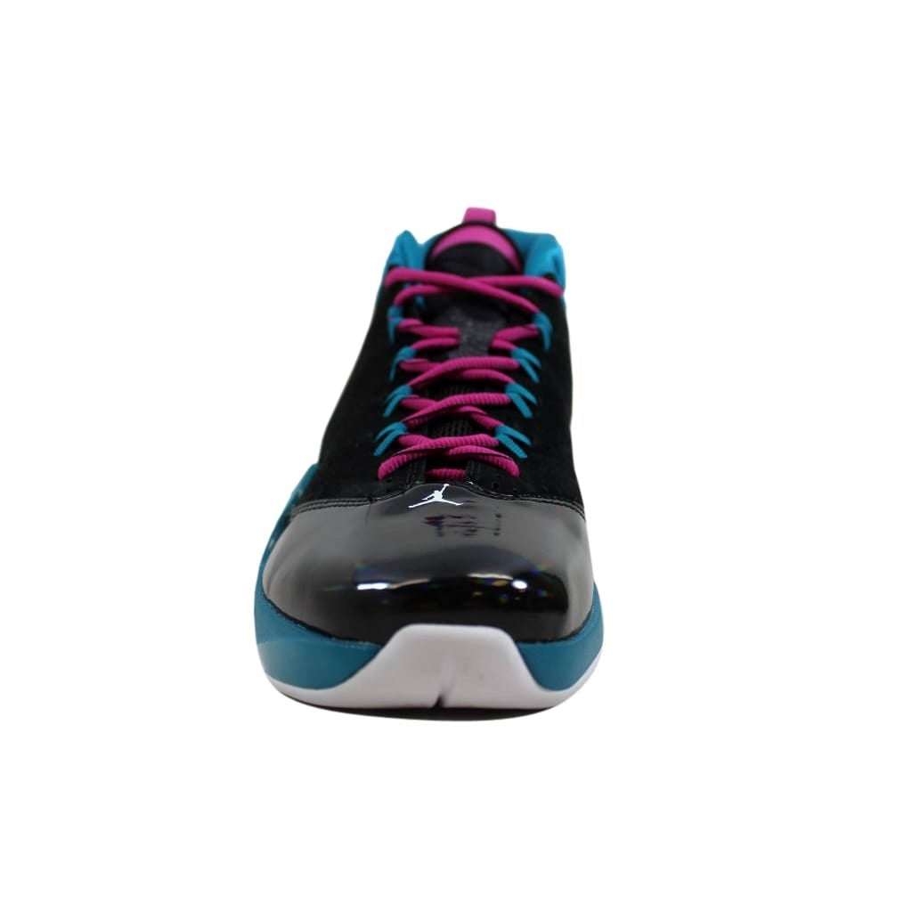 best website 18e23 64f03 Shop Nike Men s Air Jordan Flight Time 14.5 Black White-Tropical Teal-Pink  654272-026 - Free Shipping Today - Overstock - 24016592