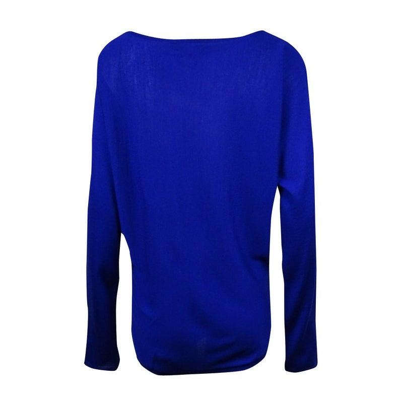 Shop Polo Ralph Lauren Women\u0027s Merino Wool Dolman Sweater - Free Shipping  Today - Overstock.com - 15019636