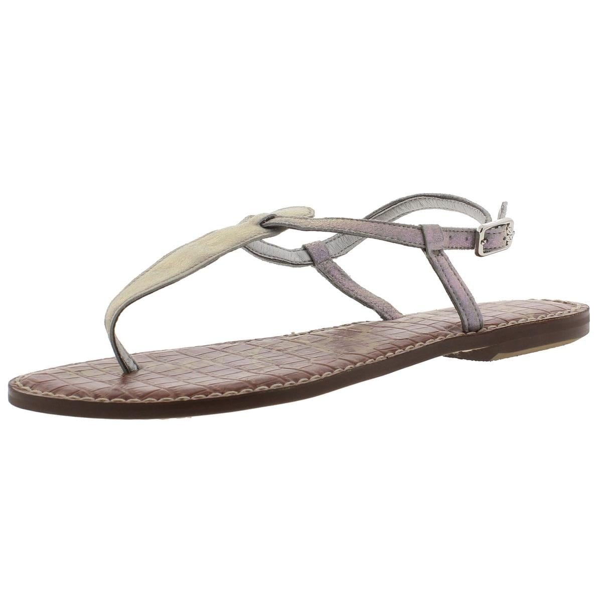 4cd099453 Shop Sam Edelman Womens Gigi Thong Sandals Buckle T-Strap - Free Shipping  On Orders Over  45 - Overstock - 13308844