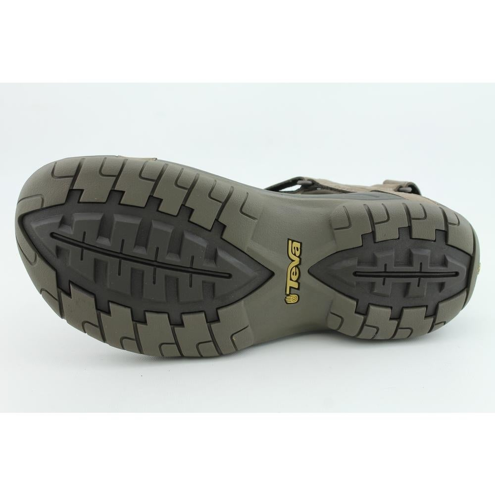 2c60545b751e07 Shop Teva Tanza Men Open-Toe Leather Brown Sport Sandal - Free ...
