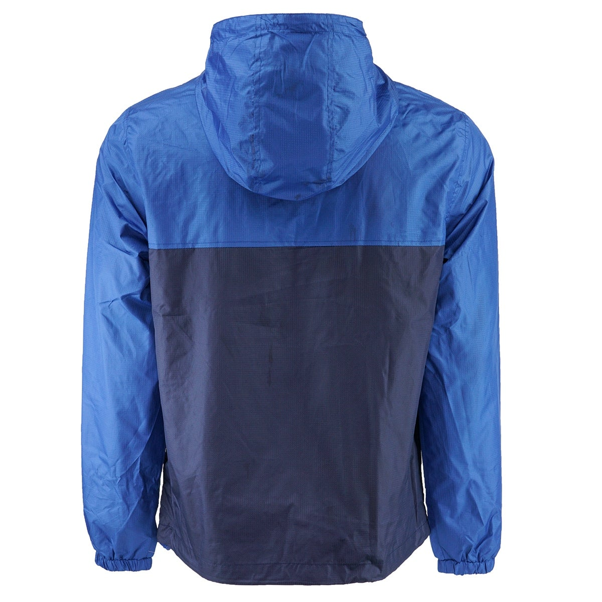 985b4a780b18 Shop Reebok Men s 1 4 Zip 2-Tone Rain Jacket - Team Royal Navy - Free  Shipping Today - Overstock - 26517929
