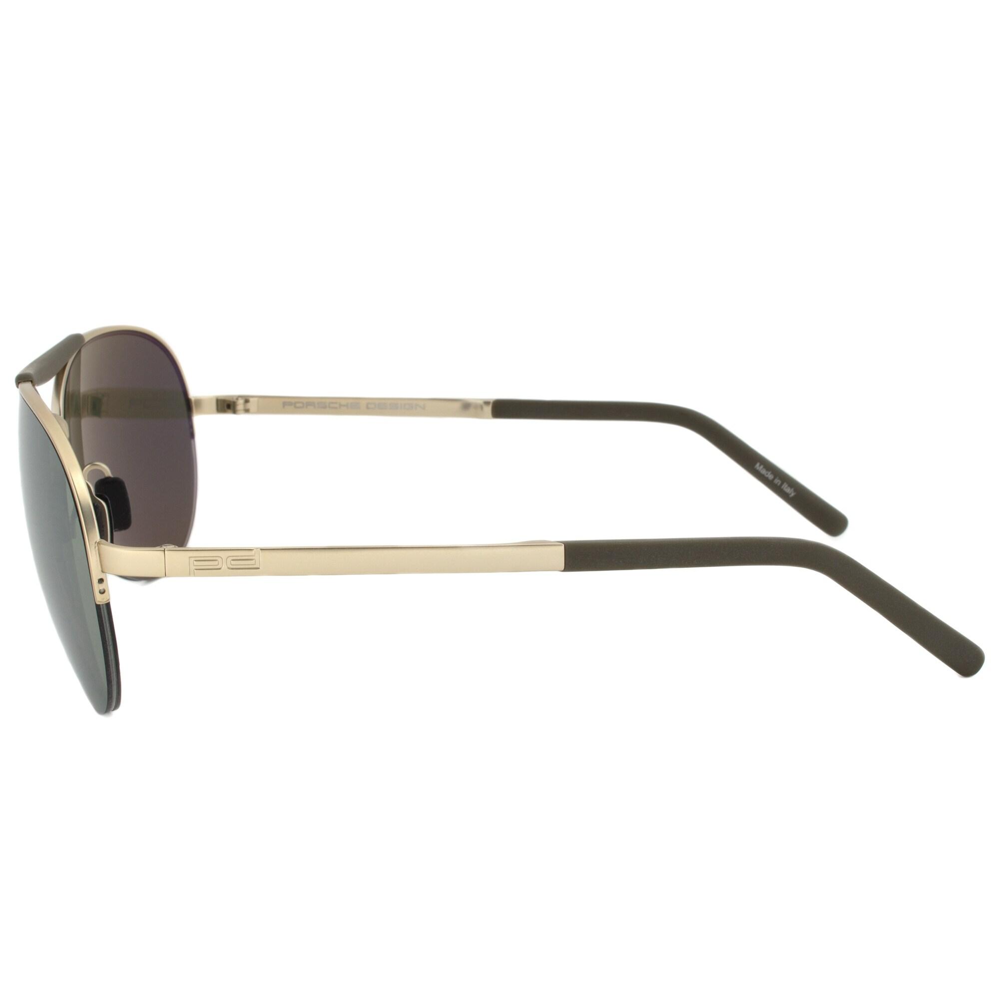 0347f825e26 Shop Porsche Design Design P8540 C Aviator Sunglasses