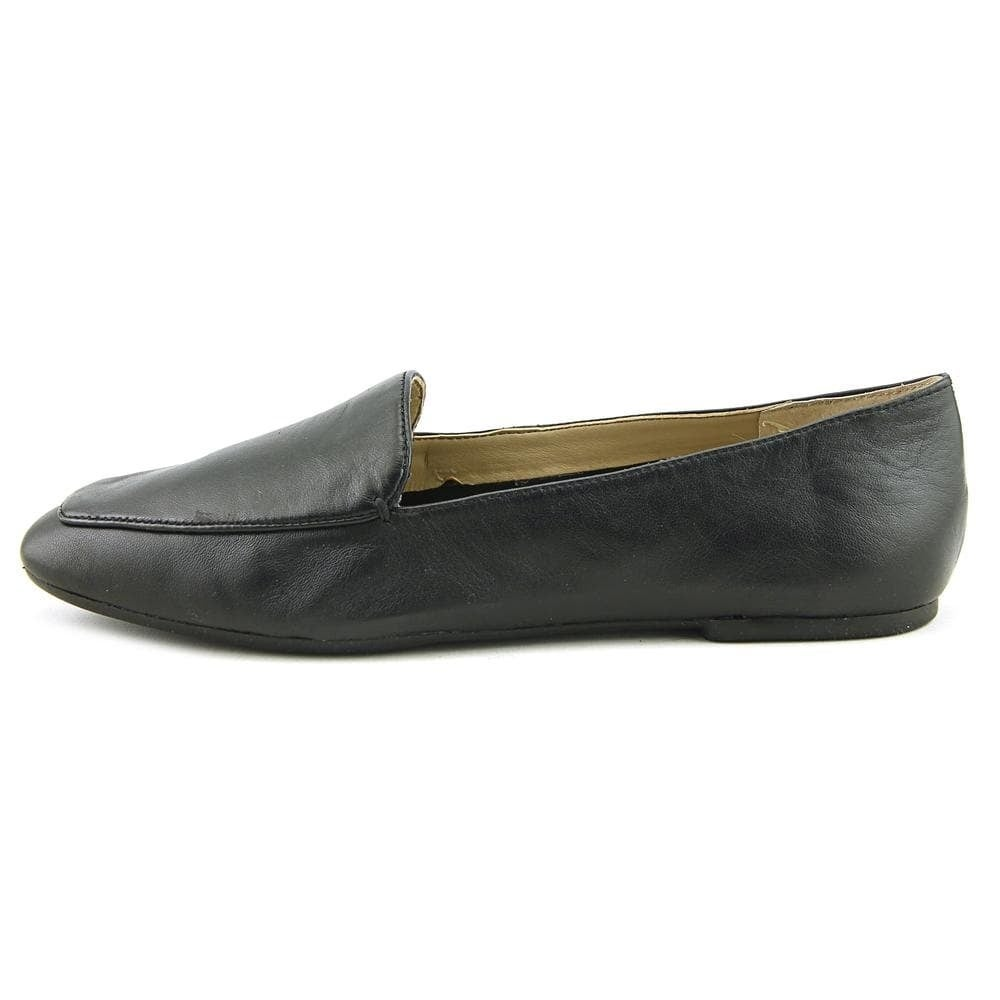 f6e15a92bb2 Shop Enzo Angiolini Womens Lorell Leather Square Toe Loafers - 7 - Free  Shipping Today - Overstock - 21421198
