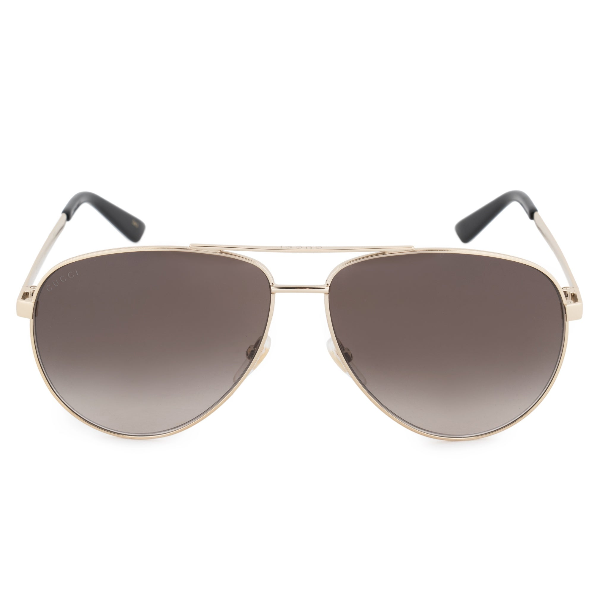 626a406a2 Shop Gucci Gucci Aviator Sunglasses GG0137S 001 61 - Free Shipping ...