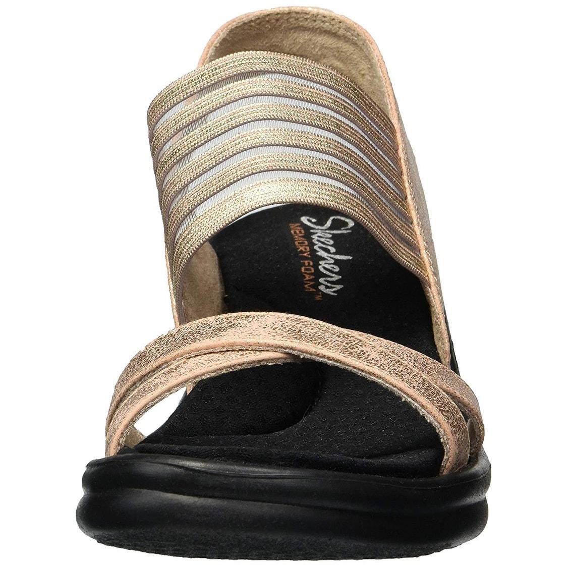 fff74df0d6f Shop Skechers Cali Women s Rumblers-Glam Society Wedge Sandal