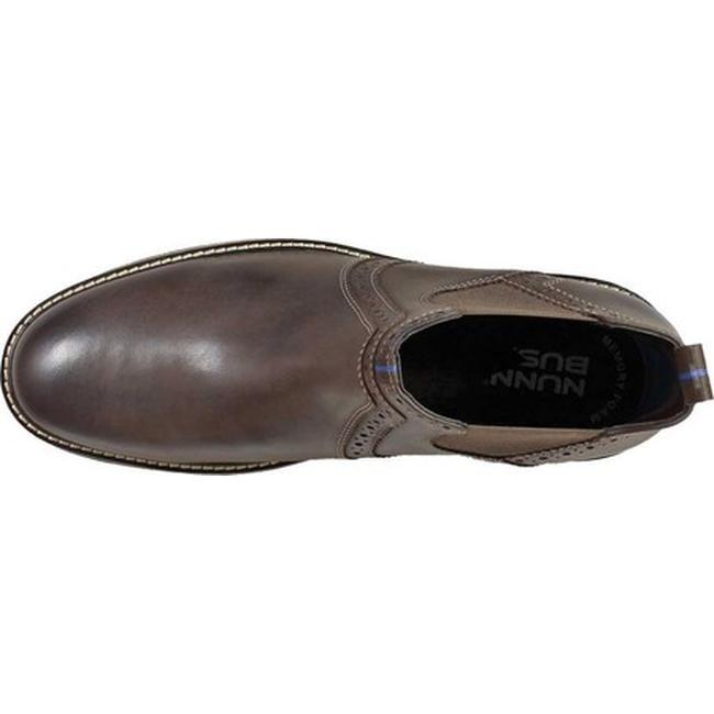 49c1ac342ca4 Shop Nunn Bush Men s Otis Plain Toe Chelsea Boot Brown Chamois Leather -  Free Shipping Today - Overstock - 22864199